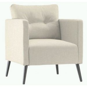 Ambia Home Webstoff SESSEL Weiß
